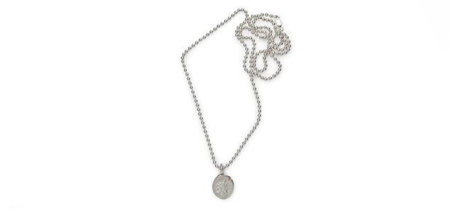 EMPEROR & FELICITAS unisex sterling silver necklace