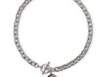 EMPEROR & FELICITAS Sterling silver choker necklace